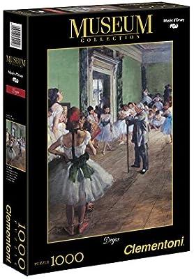 Clementoni - Puzzle de 1000 Piezas, DOrsay, diseño Degas: Lección ...