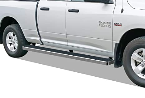 Dodge Ram Running Boards >> Aps Iboard Running Boards Nerf Bars Side Steps Step Bars Compatible With 2009 2018 Dodge Ram 1500 Quad Cab Pickup 6 5ft Bed Silver 5 Inches Wheel