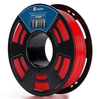 3d plástico de color rojo 3d impresora de 1,75 mm PLA Impresión ...