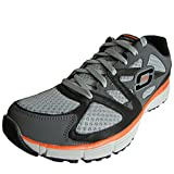 Skechers Mens 51259 Agility Ultimate Victory Shoe,Charcoal/Orange,US 11.5