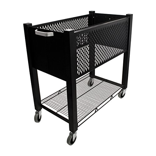 Cart Open Wire (Vertiflex Products InstaCart Open-Top File Cart, 15