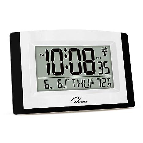 Amazon.com: WallarGe - Reloj de pared digital con pantalla ...