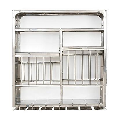 Vidya Steels Medium Stainless Steel Plate Rack For Kitchen (30X30)  sc 1 st  Amazon.in & Buy Vidya Steels Medium Stainless Steel Plate Rack For Kitchen ...
