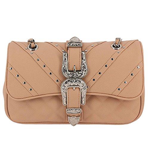 Mujer Asas Bolso Mia Piel de Bag Para de qfqxvUw0