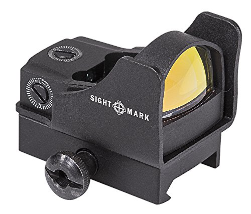 Sightmark Mini Shot Pro Spec Red Reflex Sight with Riser Mount