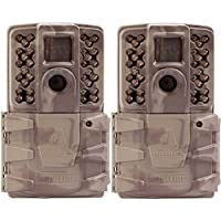 Moultrie A-30i 12MP 60 HD Video No Glow Infrared Game Trail Camera (2 Pack)