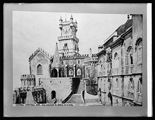 Vintography 8 x 10 Reprinted Old Photo Spain. Chateau Penha at Cintra 1918 National Photo Co 52a by Vintography