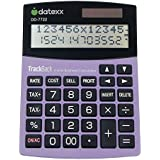 Datexx 2-Line TrackBack Business Large Desktop Calculator, DD-7722