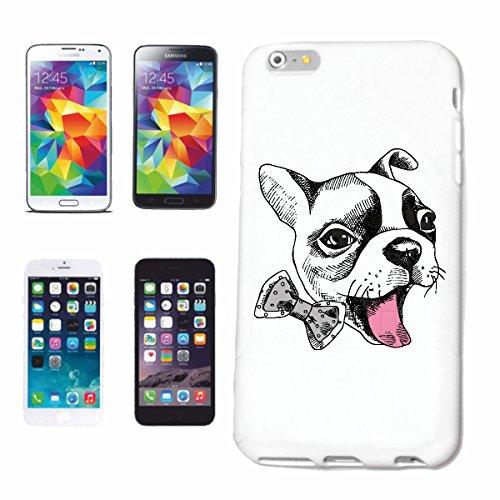 """cas de téléphone iPhone 7S """"PEU DOUX BULLDOG ANGLAIS BOW BULLDOG FRANÇAIS BULLDOG CHIOTS BULLDOGS"""" Hard Case Cover Téléphone Covers Smart Cover pour Apple iPhone en blanc"""