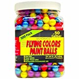 Splatmatic .50 Caliber 500 Count Paintballs, Assorted Colors