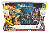 Transformers - Prime - Bumblebee VS Starscream - includes EXCLUSIVE Character Booklet! - ENTERTAINMENT PACK !