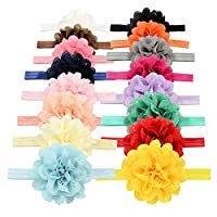 YOY Fashion Baby Girls Boutique Hair Accessories Stretchy Elastic Bands Headb...