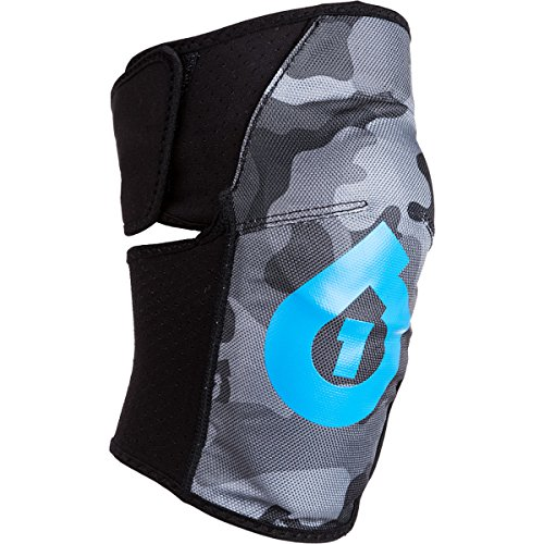 SixSixOne Youth Comp AM Knee Guard (Black, One Size)