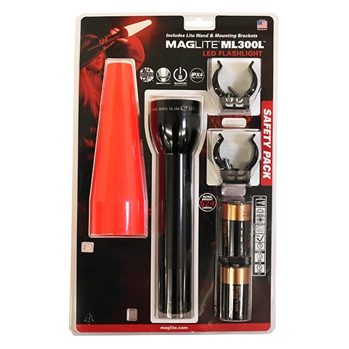 MagLite ML300L-I201G, 2 Cell D Multi Mode Elect Swicth, 524 Lumens