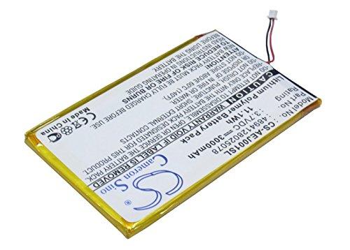Battery for Ectaco jetBook e-Book Reader Burgundy, Multil...