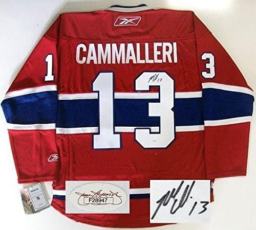 Mike Cammalleri Signed Montreal Canadiens Jersey Jsa Autographed Nhl Jerseys At Amazon S Sports Collectibles Store