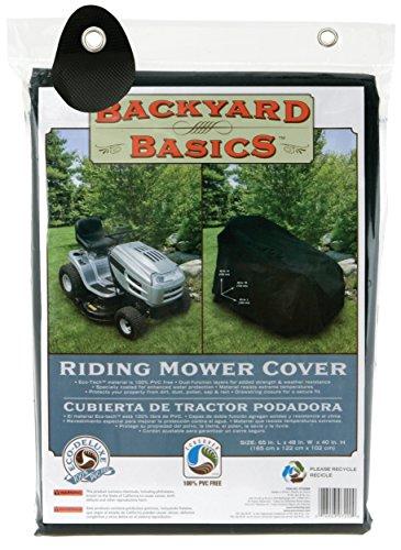 Backyard Basics Riding Mower Cover (Mowers Lawn Eco Friendly)