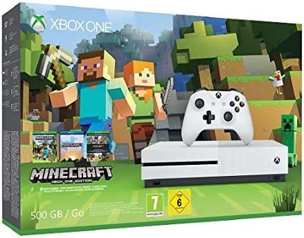 Xbox One S - Pack Consola 500 GB Minecraft: Amazon.es: Videojuegos