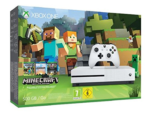 Xbox One - Pack Consola S 500 GB: Minecraft: Microsoft