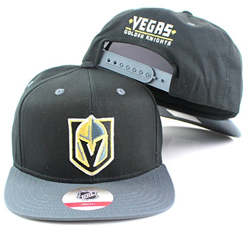 Embroidered Reebok Cap (Reebok Las Vegas Golden Knights Adidas Youth Snapback Hat)