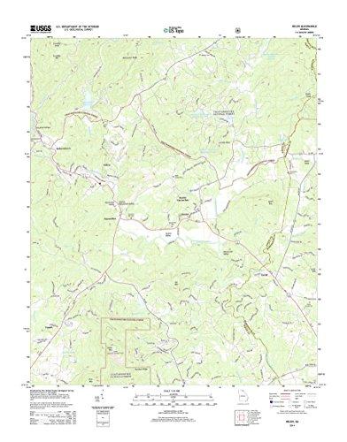 Topographic Map Poster - HELEN, GA TNM GEOPDF 7.5X7.5 GRID