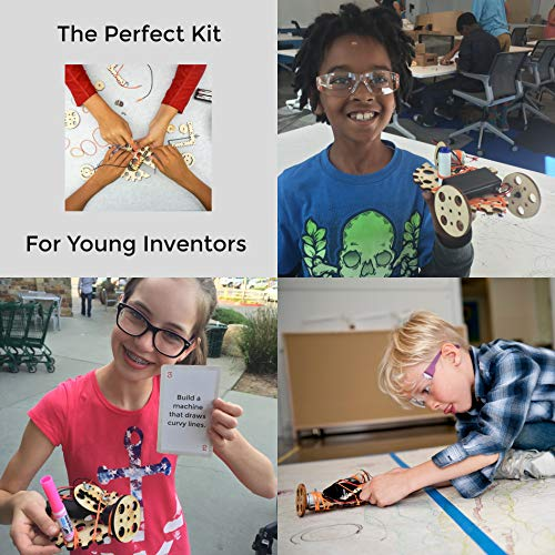 Tinkering Labs Electric Motors Catalyst, Robotics Stem Kit for Kids Age 8-12 by Tinkering Labs (Image #7)