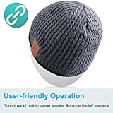 Qshell Outdoor Bluetooth Beanie Hat Slouchy Knit