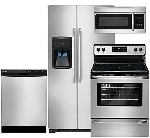 Frigidaire 4-Piece Stainless Steel Kitchen Package with FFHS2622MS 36