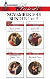 Harlequin Presents November 2013 - Bundle 1 of 2: Million Dollar Christmas Proposal\The Consequences of That Night\A Dangerous Solace\Visconti's Forgotten Heir