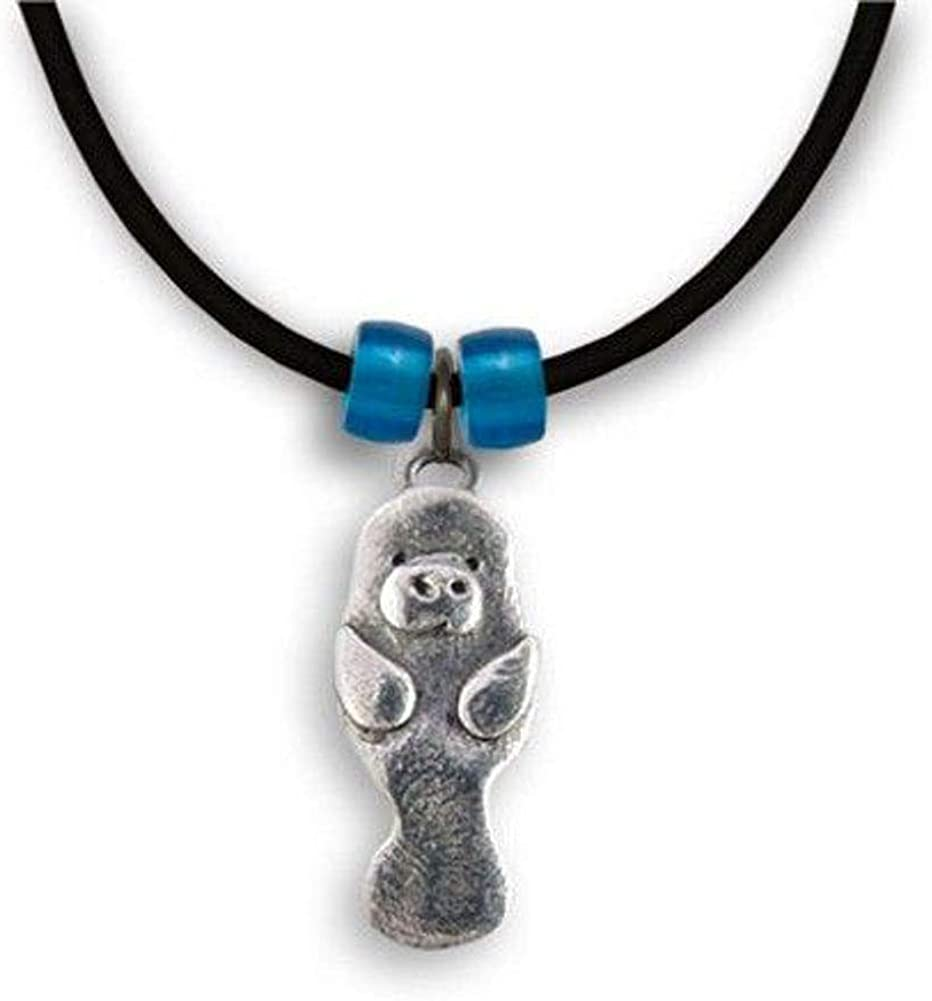Pewter Rabbit Necklace by The Magic Zoo
