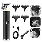 T Blade Trimmer,Teamyo Electric Pro Li Outliner Grooming Trimmer,0mm Baldhead Hair Clippers for Men,Cordless USB Rechargeable Hair & Beard Trimmer, Zero Gapped Detail Beard Shaver