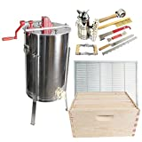 Goodland Bee Supply 2 Frame Honey Extractor,with 2 complete Super...