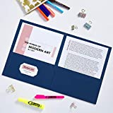 Avery Two Pocket Folders, Holds up to 40