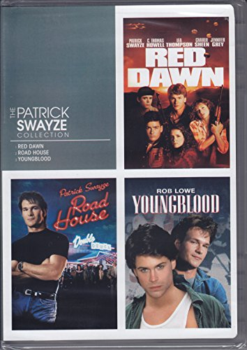 THE PATRICK SWAYZE COLLECTION - RED DAWN / ROAD HOUSE /YOUNGBLOOD (Movie Red Dawn compare prices)