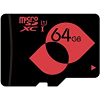 MENGMI 64GB Micro SD Card Class 10 U1 microSDXC with SD Adapter max Speed 80MB/s for Android Tablet/Phone (64GB U1)