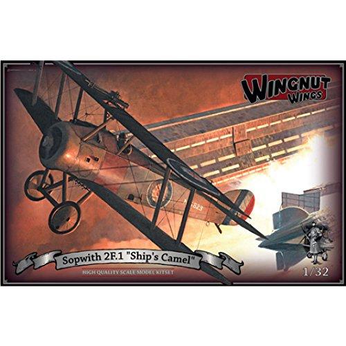Wingnut Wings Wingnut Wings32076 1//32 Scale Sopwith 2F.1 Ships Camel Model Kitsets Multi Color