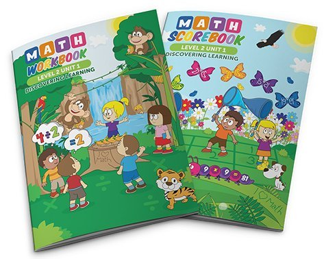 Discovering Learning WORKBOOK and SCORE BOOK Discovering Learning Inc. ages 6-8 Level 2 Unit 1 Fun MATH Program