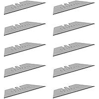 Bosch Professional 10 Vervangingsmessen Voor Vouwmessen (Trapeziumvormige Messen In Éénhandige Dispenser, Incl. Safety…