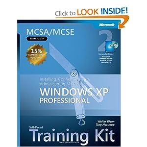 MCSA/MCSE Self-Paced Training Kit Anthony Northrup, Walter Glenn
