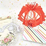 2.2 by 4.1 Inches Flower Colorful Ball Making Metal Cutting Dies Thanksgiving Halloween Christmas Die