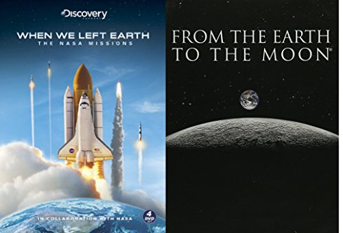 Space Documentary Collection - When We Left Earth (Limited Edition Steelbook) & From The Earth To The Moon (5-Disc Collection) 9-DVD - Ford Hawkings Tom