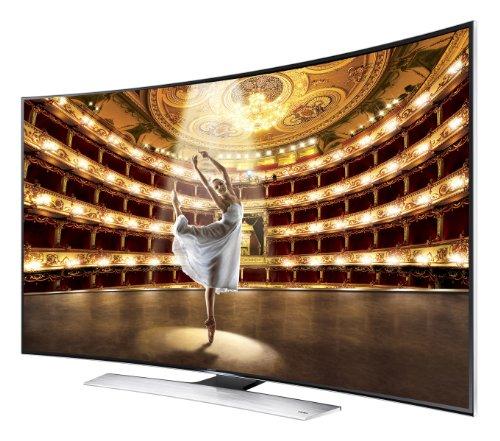 Samsung UN65HU9000 Curved 65-Inch 4K Ultra HD 120Hz 3D Smart LED TV (2014 Model)