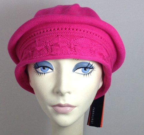 205bfda071093 Parkhurst Pointelle Beret Topper (Sunset Pink) - Buy Online in UAE ...