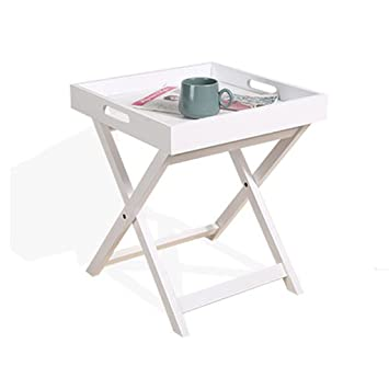 Table murale rabattable en bois Table Basse Pliante En Bois ...