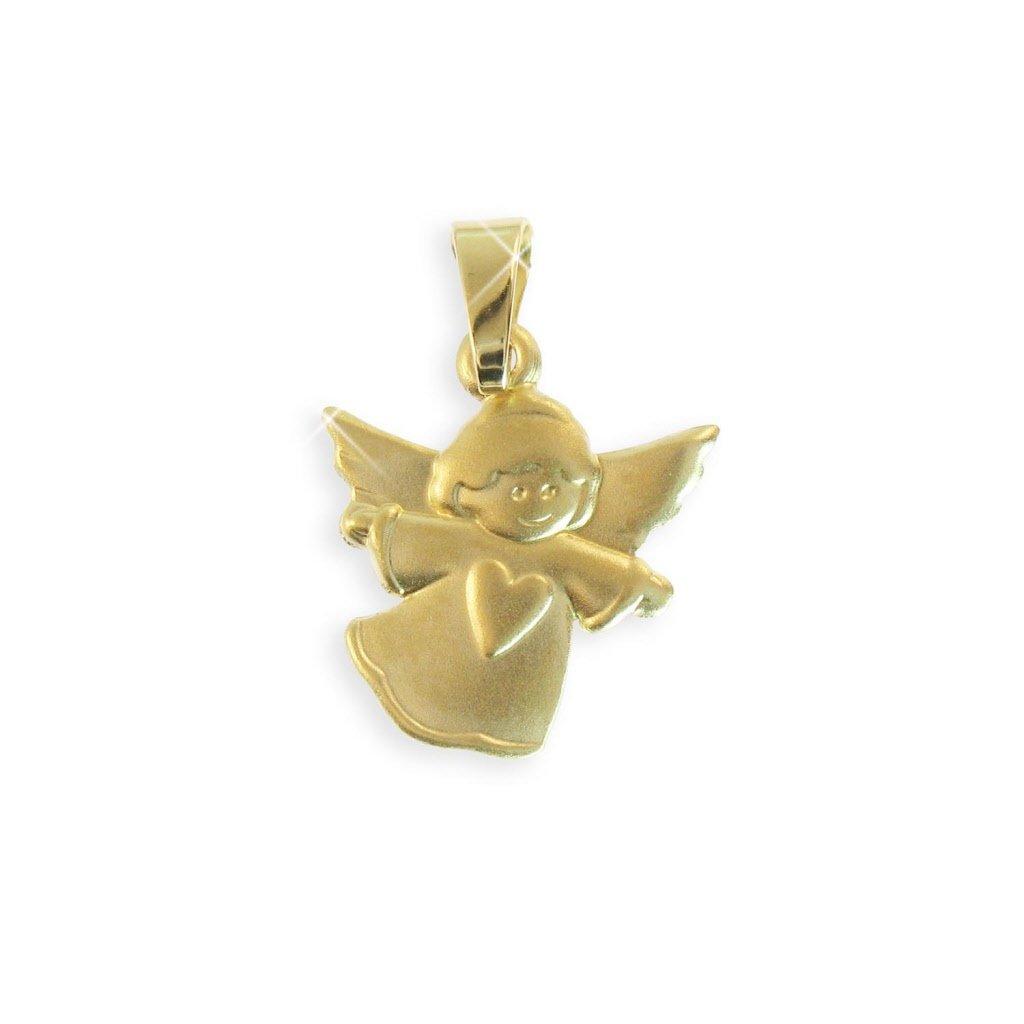 Schutzengel Christkind 14 Karat Gold 585 (Art. 213217) GRATIS-SOFORT-GRAVUR Viennagold