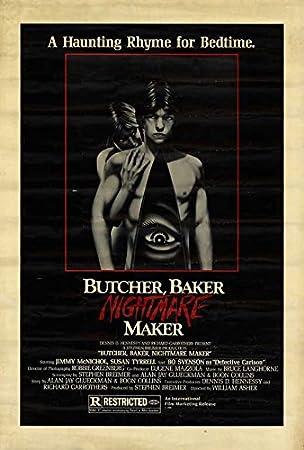 amazon butcher baker nightmare makerポスター 11 x 17 アート