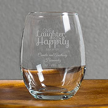 Amazon 144 Pack Love Laughter And Happily Ever After 9 Ounce