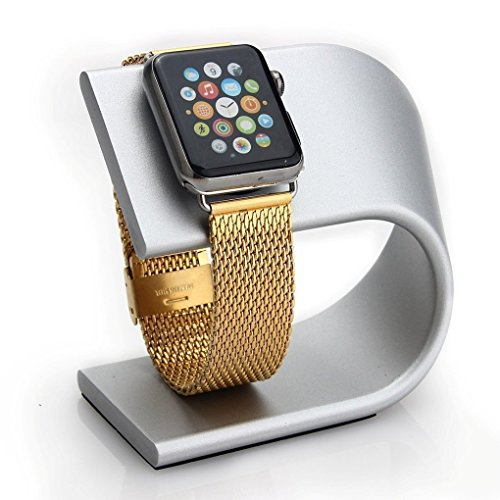 Apple Watch Stand Charging Silver