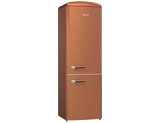 Gorenje Kühlschrank Braun : Gorenje ork cr stand kühl gefrier kombination copper braun