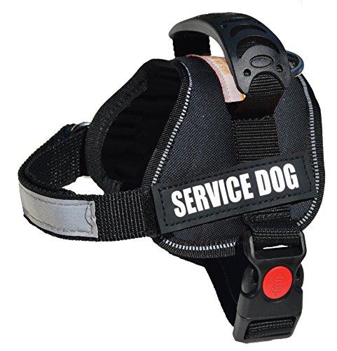 black service dog vest - 3